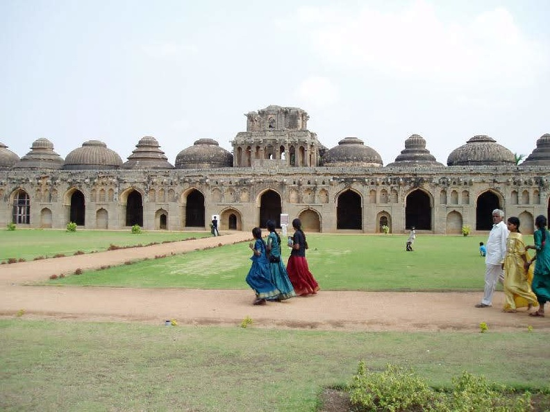 Elephant stable-Hampi
